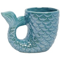 Ceramic Mermaid Tail Mug