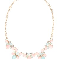 Lynette Cluster Station Necklace