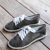 Mermosa Lace Up Sneaker, Olive