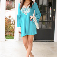 Mackenzie Dress - Teal