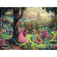 Thomas Kinkade The Disney Dreams Collection Sleeping Beauty Jigsaw Puzzle - Puzzle Haven