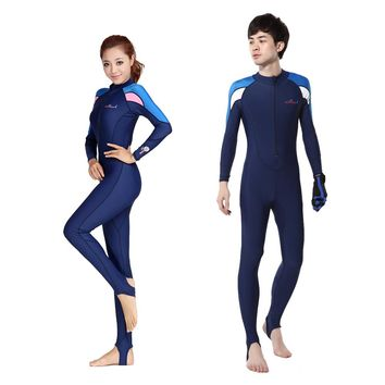 Free Shipping Full Dive Skin Jump Suit Wimming Wetsuits  dive suit men or women windsurf suits Diving Suit Swimwear