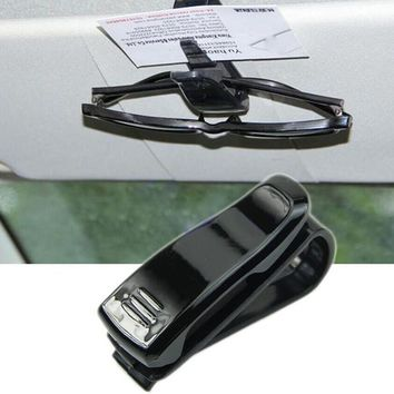 1pc New Car Visor Glasses Clip Sunglasses Business Bank Card Ticker Holder Clip Free Shipping CS188