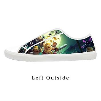 Custom Clash Of Clans Women's Canvas Shoes Fashion Shoes for Women