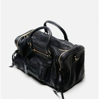 large rectangle bag black