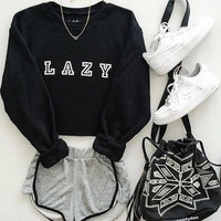 Fashion sweater long-sleeved shirt
