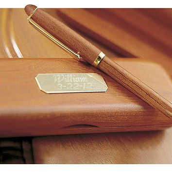 Personalized Pens - Rosewood - Pen & Case - Executive Gifts