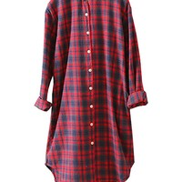 Women's Cotton T-Shirt Tops Blouse Coat Casual Loose Fitting One Size