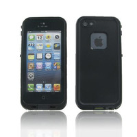 iPhone 5S/ 5 Black Water Proof Case