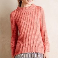 Waffle Stitch Pullover by Field Flower by Wendi Reed