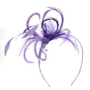 Wedding Fascinator, Wedding Headdress, Wedding Headdress, Feather Headdress, Bridal Fascinator