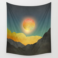 Surreal sunset 01 Wall Tapestry by marcogonzalez