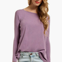 Back to Basics Long Sleeve Top $28
