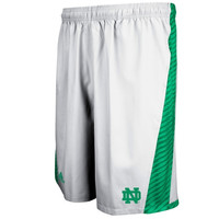 adidas Notre Dame Fighting Irish 2014 Football Sideline Player Shorts - White
