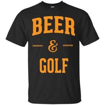 Beer & Golf. The Perfect Combination Funny Golf Fans Gifts