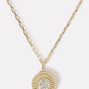 Diamond Small Rays Pendant