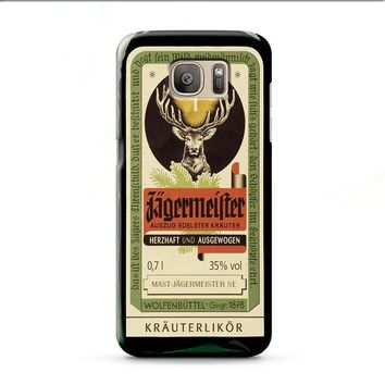 Jagermeister Retro Bottle Samsung Galaxy J7 2015 | J7 2016 | J7 2017 case