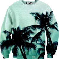 ☮♡ Palm Trees Sweater ✞☆
