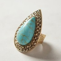 Turquoise Teardrop Ring by Samantha Wills Turquoise One Size Jewelry