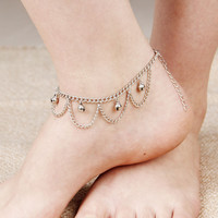 Fashion Gold Chain Anklet Foot Ankle Women Lady Jewelry Elegant = 4473523588