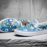 VANS Print Old Skool Canvas Flat Sneakers Sport Shoes