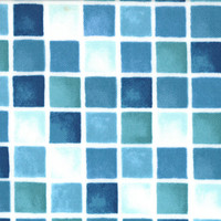 Seascapes by Deb Strain for Moda Fabrics, Tile in Ocean Blue