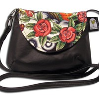 Roses Cross Body Purse