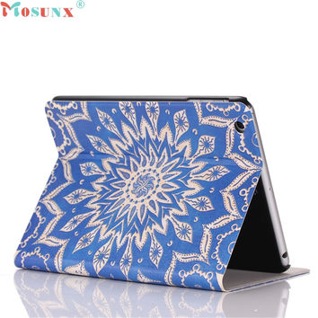 Mosunx SimpleStone Flip Stand Leather Case Cover For iPad Mini 1 2 3 Retina 60421