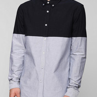 Charles & 1/2 Colorblock Button-Down Shirt - Urban Outfitters