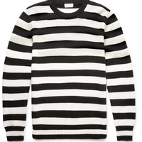Saint Laurent - Striped Wool Sweater