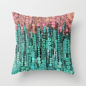 :: Driving Cadillacs In Our Dreams :: Throw Pillow by :: GaleStorm Artworks ::