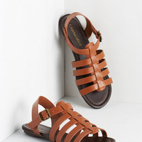 Boho Just My Nature Sandal in Mahogany