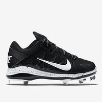 Nike Air Hyperdiamond Pro Black Size 7.5 Softball Cleats Metal 684693