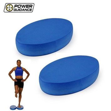 DCCK1IN power guidance 2pcs balance pad new stability balance trainer for yoga elite exercise training non slip exercise posture soft