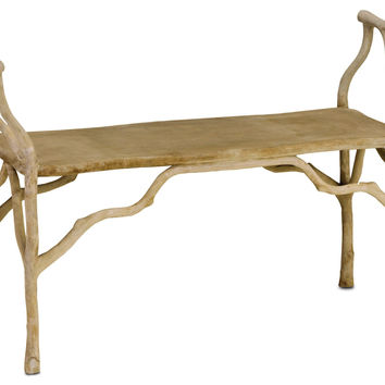 Currey Company Beaujon Bench