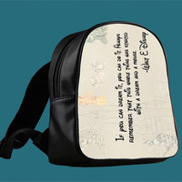 Walt Disney Inspiration Key for Backpack / Custom Bag / School Bag / Children Bag / Custom School Bag *
