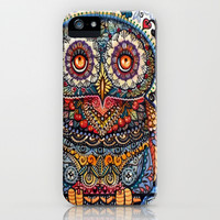 Bohemian Owl Cell Phone Case