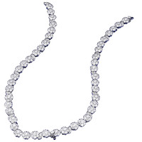Van Cleef & Arpels Diamond Gold Cluster Necklace Converts to Bracelets Choker