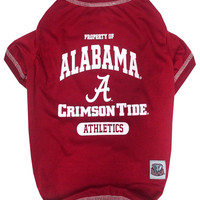 University of Alabama Pet Tee Shirt