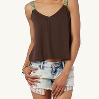 Desert Diamond Crop Tank
