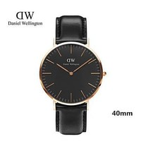 Daniel Wellington 40mm Classic Black Sheffield Watch