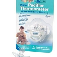 Digital Baby Pacifier Thermometer, by Mabis - 1 each