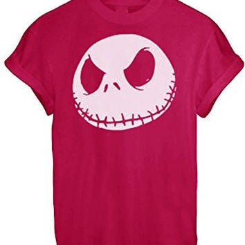 Jack Jumbo Face Head Nightmare Before Christmas White Grey BLACK - Red