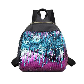 Moon and Stars - Sequined Shoulder Bag