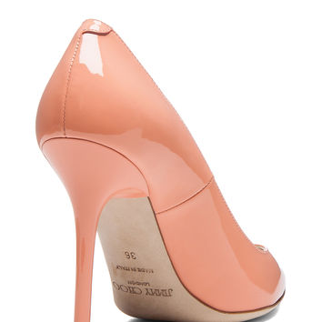 Abel Pointed Pumps in Grapefruit
