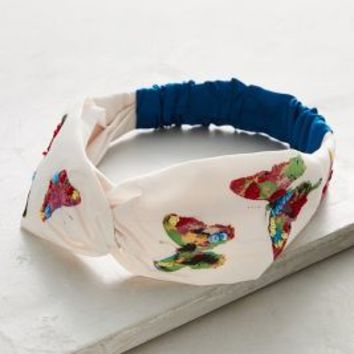 Butterfly Turban Band by Anthropologie in Assorted Size: One Size Hair