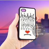 One Direction Truly Madly Deeply case for iPhone 5/5s/5c/4/4s/6/6+,iPod 4th 5th,Samsung Galaxy S3/S4/S5,Note 2/3,HTC One,LG Nexus