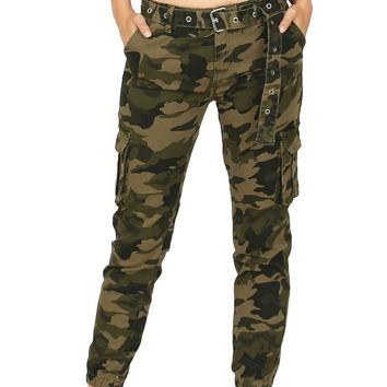 Cargo Camouflage Joggers