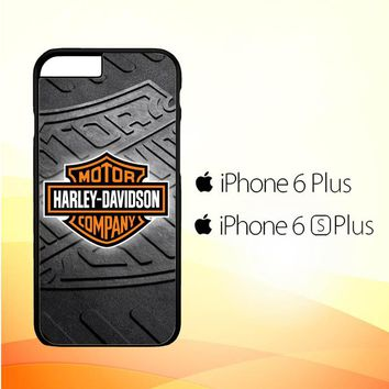 Harley Davidson logo Z3250 iPhone 6 Plus|6S Plus Case