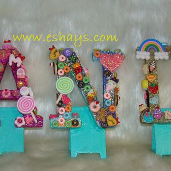 Custom Candy Buffet Table Letters